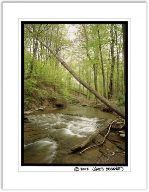 Spring Creek Diagonal Falls 3x4