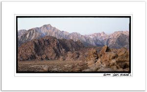 Alabama Hills First Light
